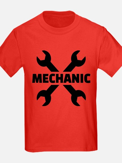 Crossed screw wrench mechanic T