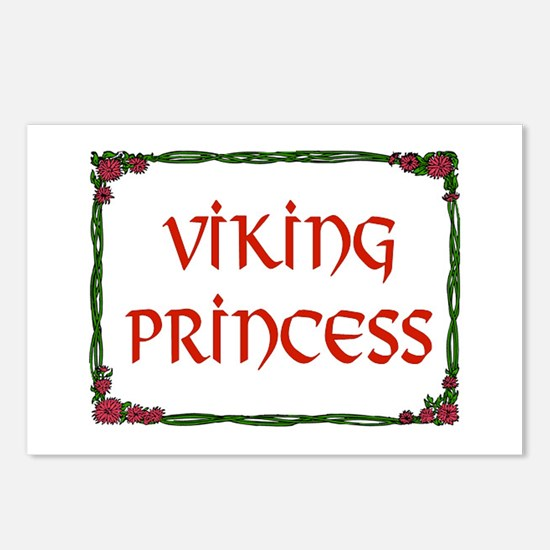 VIKING PRINCESS Postcards (Package of 8)