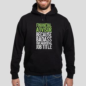 Badass Financial Advisor Hoodie (dark)