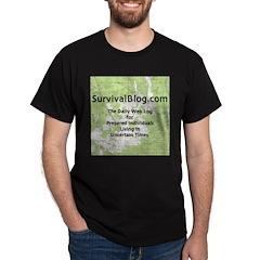 SurvivalBlog T-Shirt - Full Size Logo