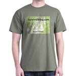 SurvivalBlog Dark T-Shirt - Small Logo