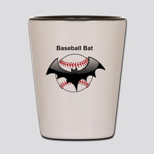 Halloween Baseball bat Shot Glass