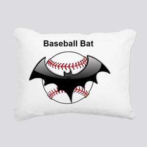 Halloween Baseball bat Rectangular Canvas Pillow