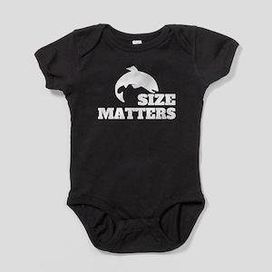 Size Matters Fishing Baby Bodysuit