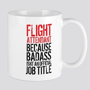 Badass Flight Attendant Mugs