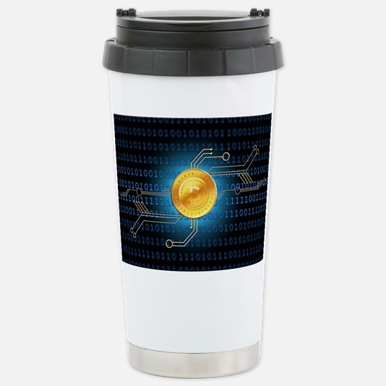 Cute Btc Travel Mug
