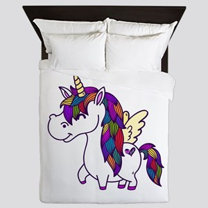 Ellagee Unicorn Queen Duvet