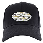 Seatrout and Drum Pattern Baseball Hat