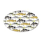 Seatrout and Drum Pattern Wall Decal