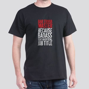 Bar Trivia Master Badass T-Shirt