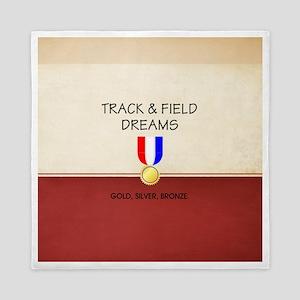 Track & Field Dreams Queen Duvet