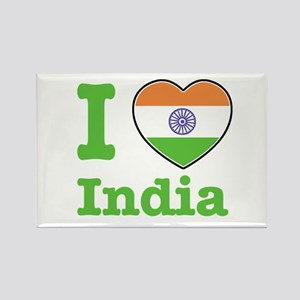 I love India Rectangle Magnet