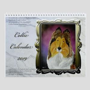 2016 Collie Wall Calendar