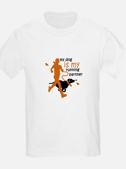 my dog is my running partner T-Shirt