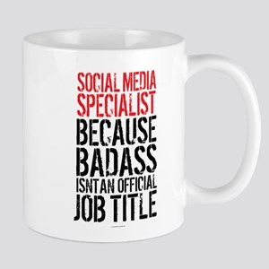 Social Media Badass Mugs
