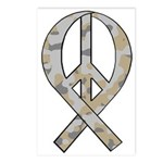 Camo Peace Ribbon Postcards (Package of 8)