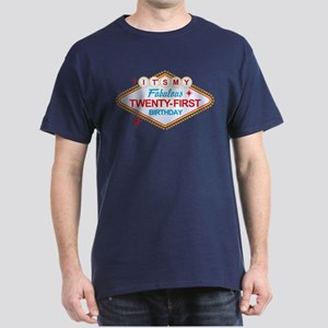 Las Vegas 21st Birthday Dark T-Shirt