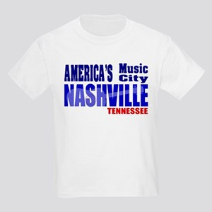 Nashville America's Music City-RWB T-Shirt