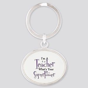 Super Teacher Keychains