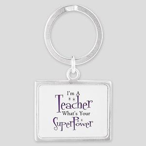 Super Teacher Keychains