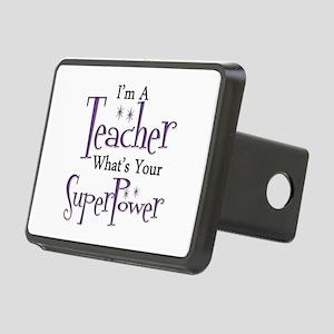 Super Teacher Rectangular Hitch Cover