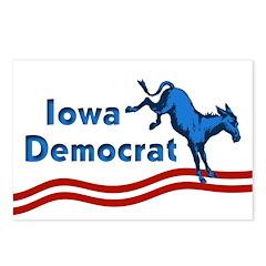 Iowa Democrat Postcards (Package of 8)