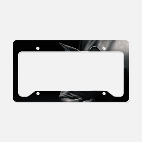 Contemplation Moment License Plate Holder