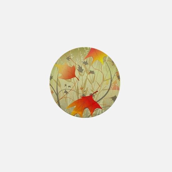 Cute Autumn Mini Button