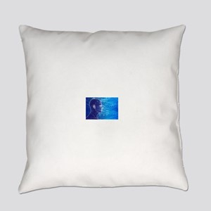 Electronic Circuit Head Everyday Pillow