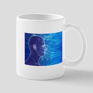 Electronic Circuit Head Mugs