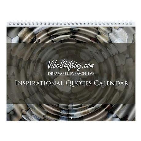 Vibe Shifting Inspirational Quotes Wall Calendar By Vibeshifting