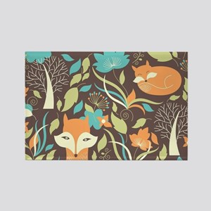 Woodland Fox Magnets