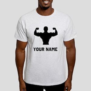 Bodybuilder Silhouette T-Shirt