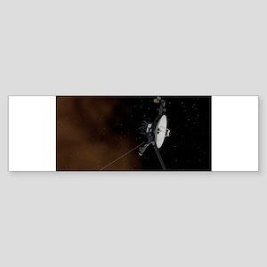 Voyager 1 spacecraft- NASA/JPL-Calt Bumper Sticker