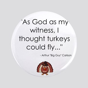 WKRP Turkeys Button