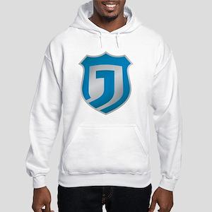 Justice Network Large Shield Shi Hooded Sweatshirt