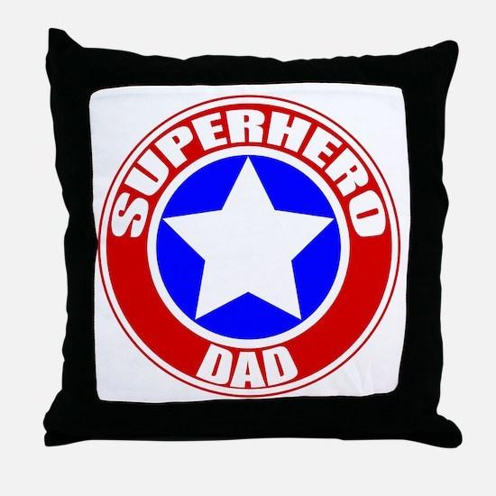 Unique Superhero Throw Pillow