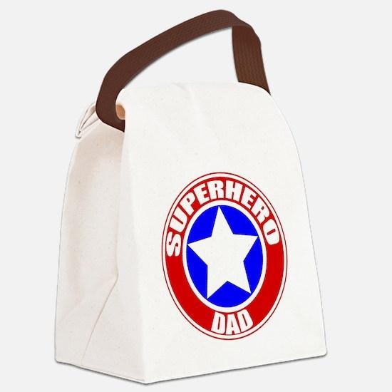 Unique Superhero Canvas Lunch Bag