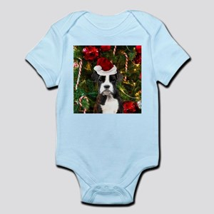 Christmas Boxer Dog Body Suit