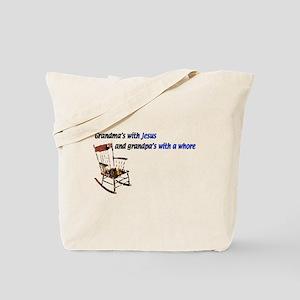 Grandma's with Jesus Tote Bag