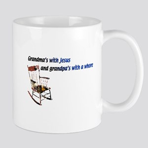 Grandma's with Jesus Mug