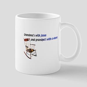 Grandma's with Jesus Mug