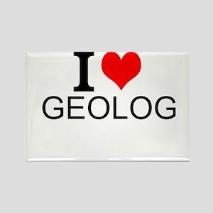 I Love Geology Magnets