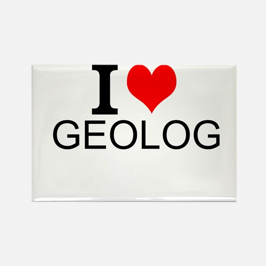 I Love Geology Magnets