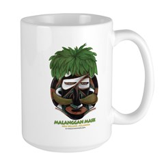 Malanggan Large Mug