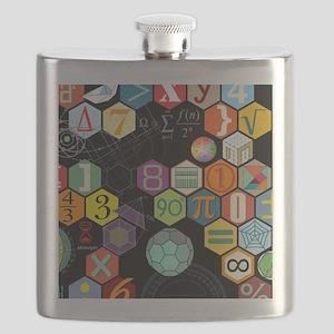 Math Black Flask