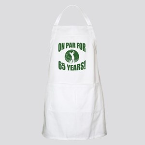 Golfer's 65th Birthday Apron