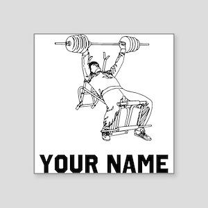 Bench Press Sticker