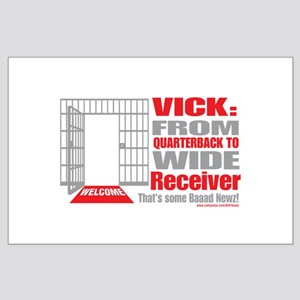 Wide Receiver Large Poster