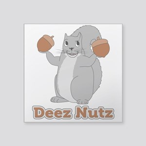 Deez Nutz Squirrel Sticker